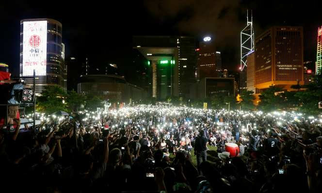 China Rules Out Open Election in Hong Kong, Setting Stage for 'Occupy' Protest