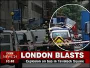 London Blasts Tavistock