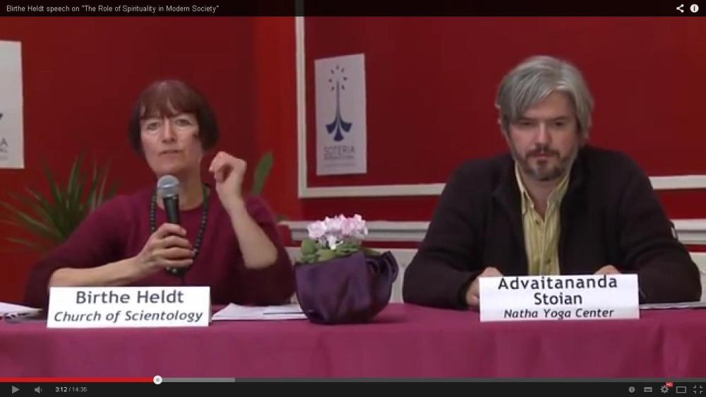 Birthe Heldt, Mihai Stoian  Soteria conference 2012